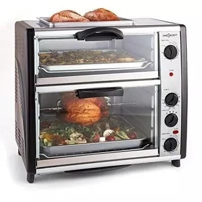 Crown Star Electric Toaster Oven With Top Grill 42l