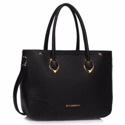 ls Grab Shoulder Handbag - Black