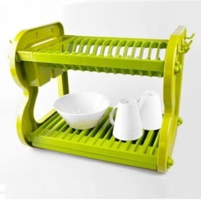 Home Basics 2 Tier Dish Rack Fascinating Big Chef Home Basics 60Tier Plastic Dish Drainer Konga Nigeria