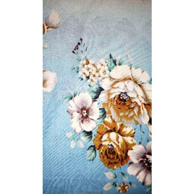 Previous Next. King Size Quality Flowered Bed Sheet ...