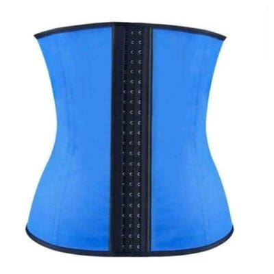 Latex Waist Clincher - Blue Black
