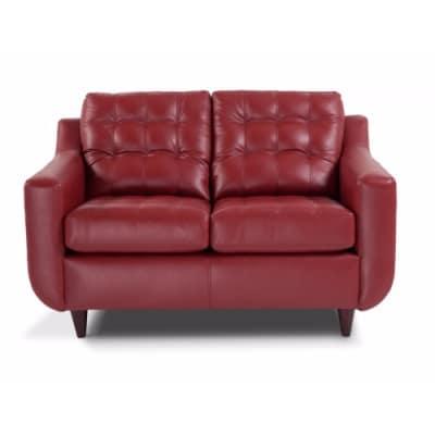 Hapoti Mercury Red Tufted Sofa Set | Konga Nigeria