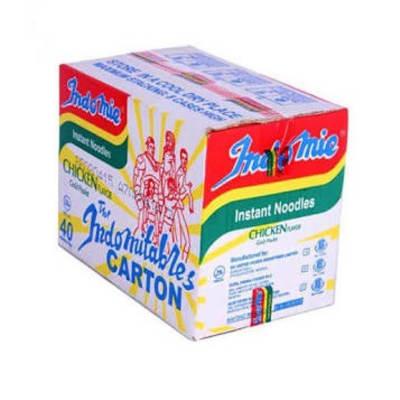 Indomie Instant Noodles - Chicken Flavour - 70g x 40 - 1 Carton