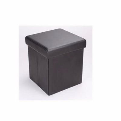 Elegant Ottoman Faux Leather Storage Box | Konga Nigeria