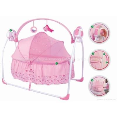 primi rocking baby bed with mosquito net pink konga nigeria