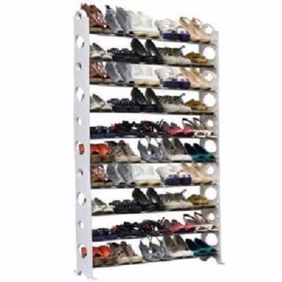 Previous Next. Shoe Storage Rack   50 Pairs