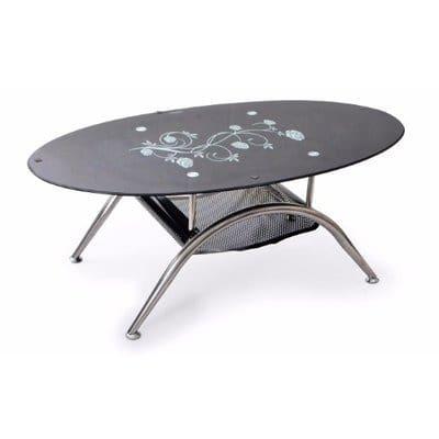 Tempered Glass Center Table   Black | Konga Nigeria