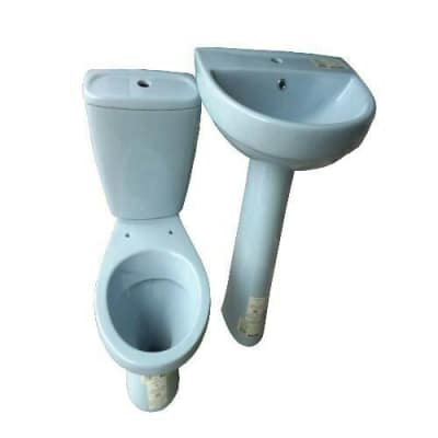 Beau Previous Next. Twyford WC Blue Set Of Water Closet ...