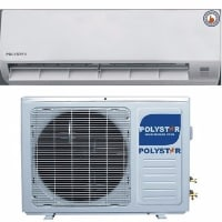 1HP Air Conditioner Unit With Free Installation Kit - PV-09CS/AK