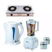 Gas Cooker, Kettle & Blender Bundle