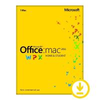 Office Mac Home Student 2011 EN DVD