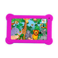 Kids Legacy 7.0-inch (1gb, 8gb Rom), Android 6.0, 2mp + 0.3mp Tablet-fuchsia