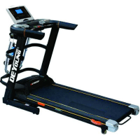 New Improved 3HP Treadmill with Massager, MP3 & Auto Incline