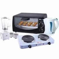 Blender + Kettle + Oven + Cooker Bundle