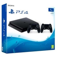PlayStation 4 Slim 1TB Console With 2 Controllers