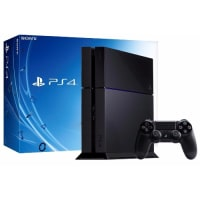 PlayStation PS4 500GB Console - Certified Graded -Jet Black
