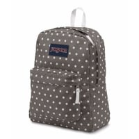 SuperBreak Backpack - Shady Grey & White Dots