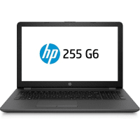 255 G6 Laptop- E2-9000e Amd -4gb Ram -,500gb Hdd- 15.6-inch Win 10 - Black