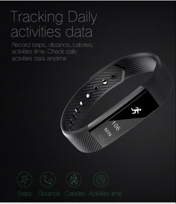 HeartRate Monitor - ID115 Smart Bracelet Fitness Tracker