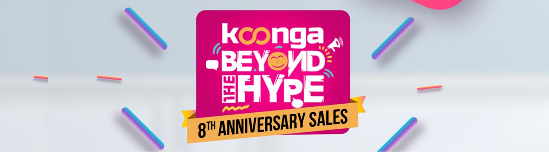 Konga 8th Anniversary Sale