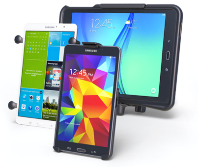 Different mobile devices.
