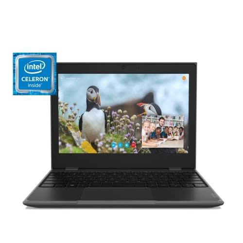 """100E Intel Celeron N4000, 4GB RAM 64GB EMMC, 11.6"""" - Wins 10."""