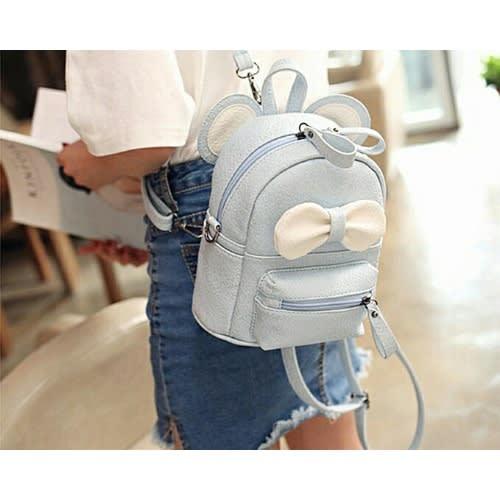 "11"" Girly Backpack - Blue."