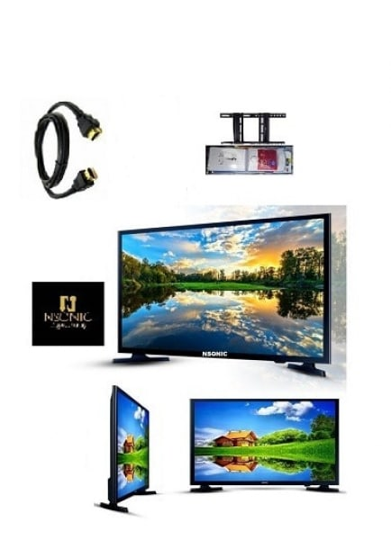 43-Inch Full HD LED TV + Free Hanger & TV Guard with Warranty.
