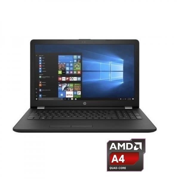 Notebook 15-RB006NIA AMD A4 Dual Core - 4GB RAM, 500GB HDD - FreeDos + 15.6-Inch BAG.