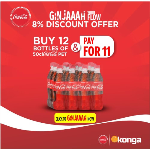 50cl Pet @ 8% Discount - Ginger Your Flow Offer.