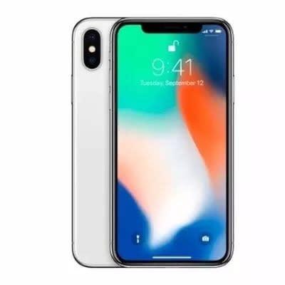 """iPhone X -5.8"""" - 64GB ROM - 3GB RAM  - White."""