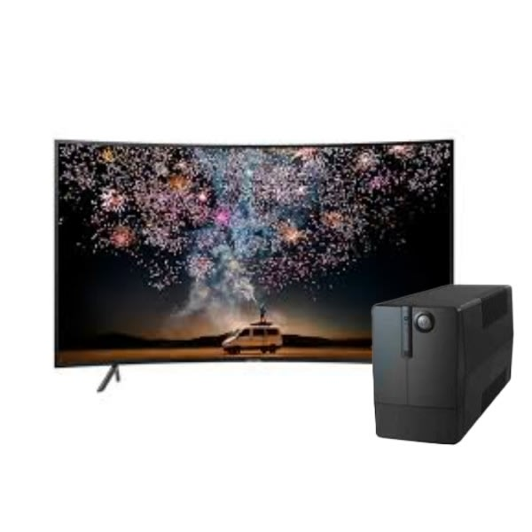 49' Curved Uhd 4k Smart Tv-49ru7300 + Free UPS.