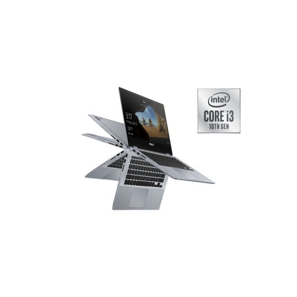 "VivoBook Flip 14"" Touch, Intel Core i3-10110U, 4GB RAM 512GB PCIe SSD  Wins 10."