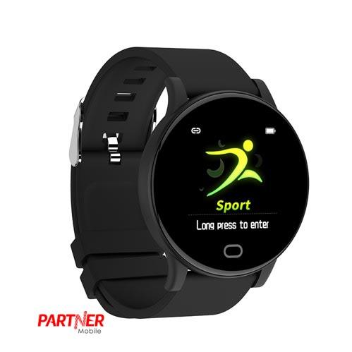 Partner Mobile Erica Smart Watch Black.