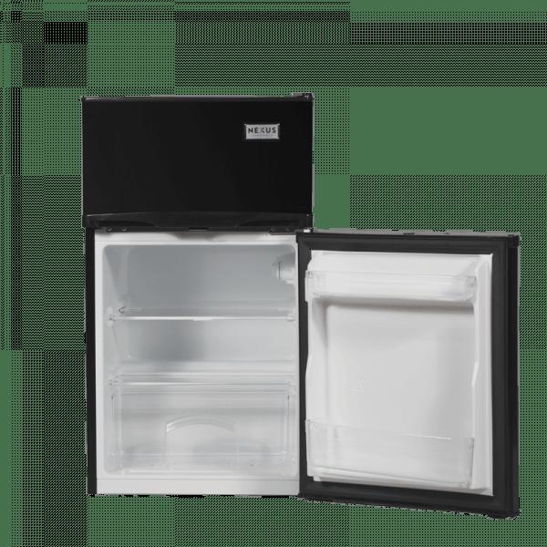 Double Door Refrigerator Nx-130 Ltr - Black.
