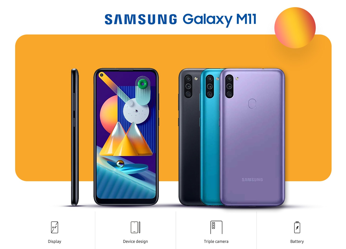 Samsung Galaxy M11 Preorder Motive Mall