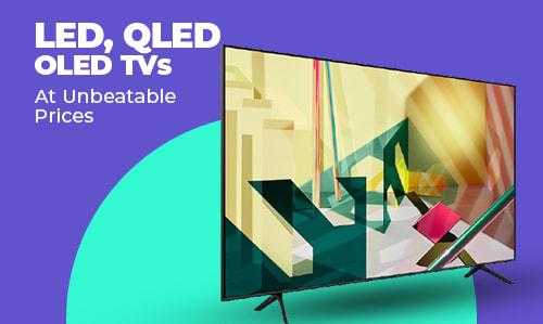 LED, QLED, OLED TVS.