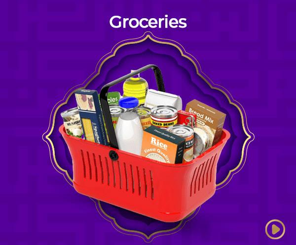 Easter Essentials (Groceries).