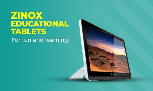 Zinox Educational Tablets .