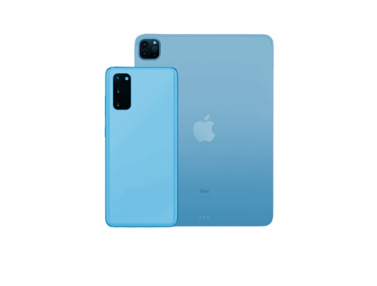 Phones and Tablets category cover image.