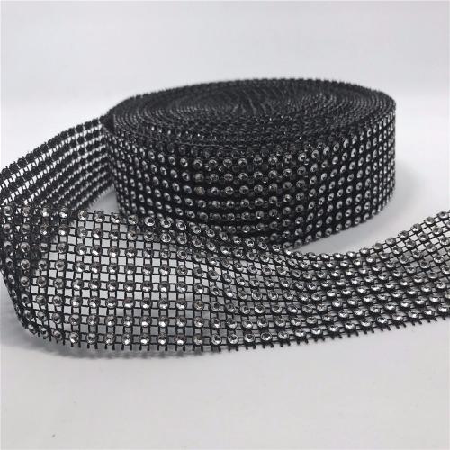 1 Roll Diamond Mesh Wrap - Black
