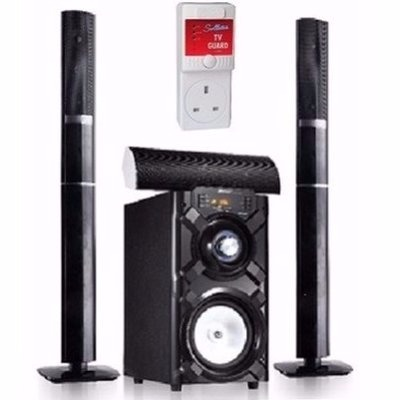 3.1ch Bluetooth Home Theatre System + Power Surge