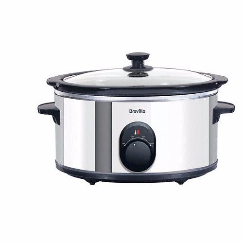 4.5L Stainless Steel Slow Cooker