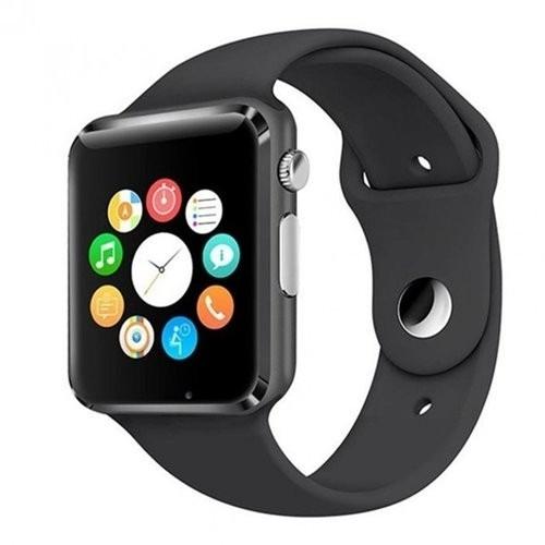 A1 Smartwatch With Sim & Memory Card Slot, & Camera - Black
