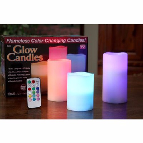 Flameless Color-Changing Candles