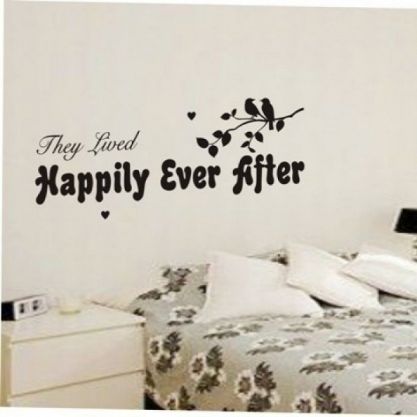 Happily Ever After Wall Sticker