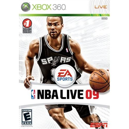 Nba Live 09- Xbox 360