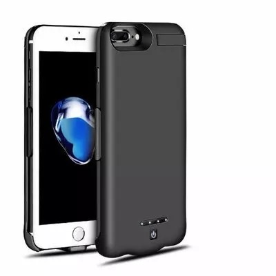 1000mah Extended Powerbank Case For Iphone 7 Plus - Black