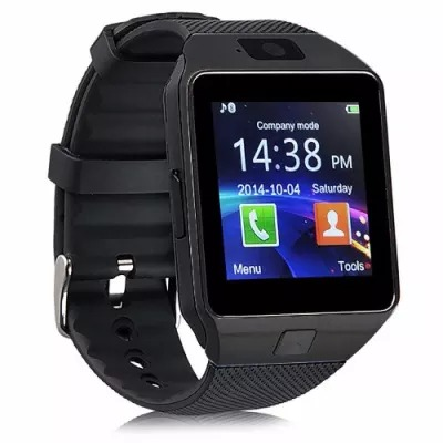 Dz09 Bluetooth Smart Watch - Black