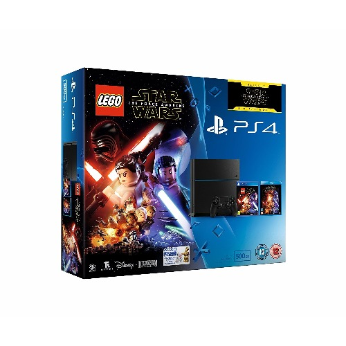 PlayStation 4 500GB Console with LEGO Star Wars +2 Games